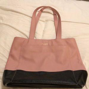 Pink and black Kate Spade bag pristine